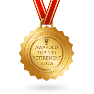 Retirement blog badge. How to retire and preparing for retirement.