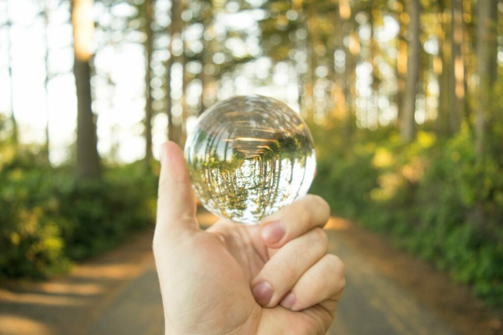 You may not have a crystal ball, but you can envision the future you